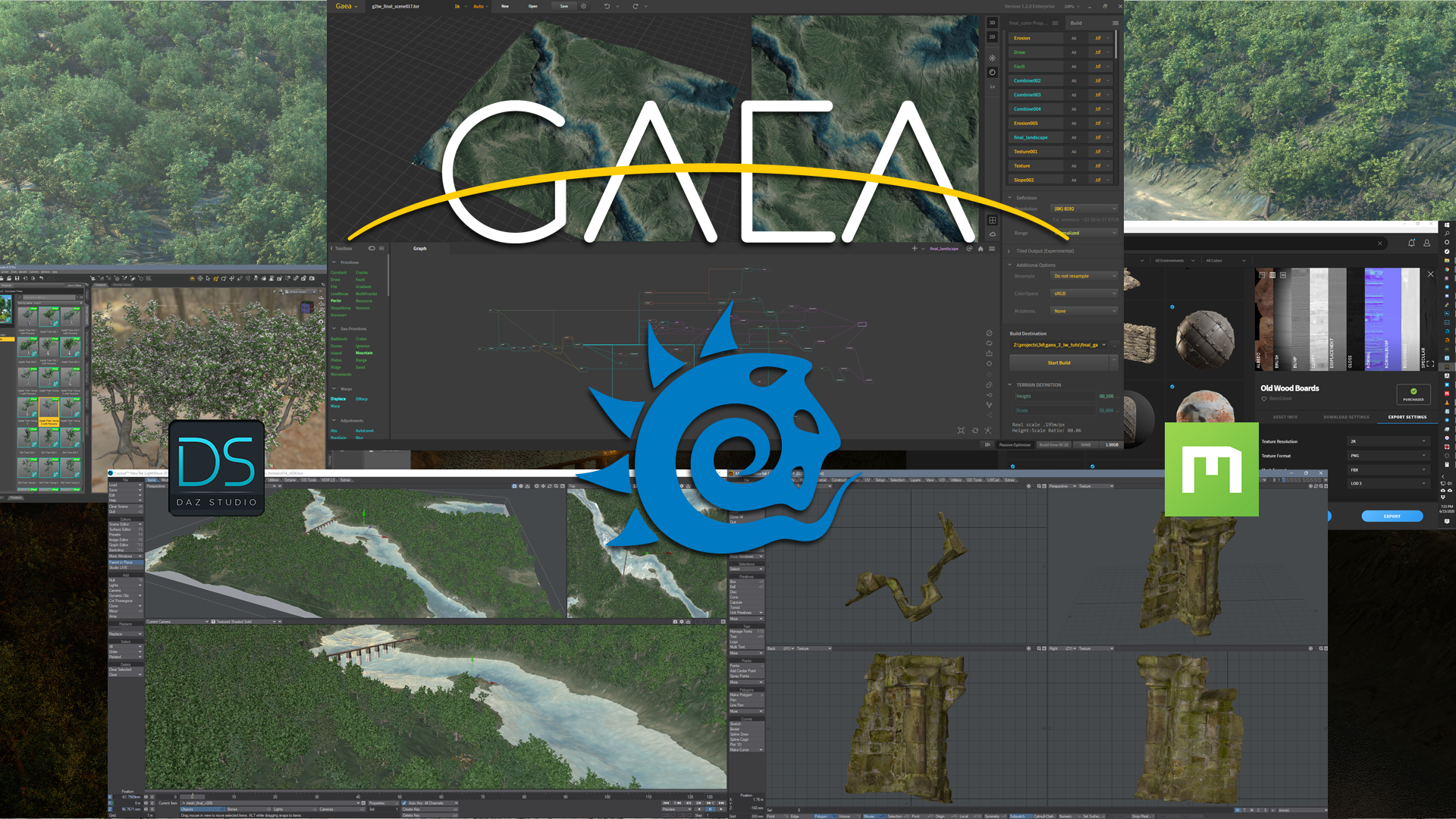 Gaea to Lightwave - The Basics - Part 1